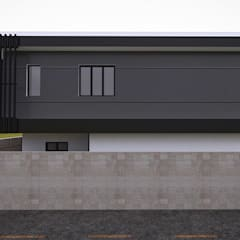 Bungalow Design -Yong Peng Johor Bahru,Malaysia:  Houses by Enrich Artlife & Interior Design Sdn Bhd,