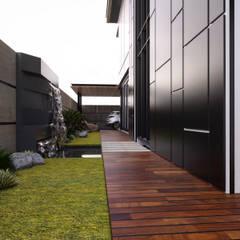 Bungalow Design -Yong Peng Johor Bahru,Malaysia:  Garden by Enrich Artlife & Interior Design Sdn Bhd,