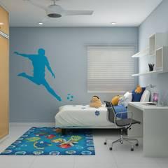 Kinderzimmer von Rhythm  And Emphasis Design Studio