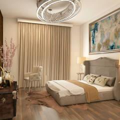 Schlafzimmer von Rhythm  And Emphasis Design Studio
