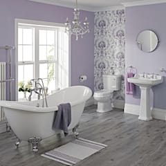 Milano Traditional Freestanding Bath Suite:  Bathroom by BigBathroomShop