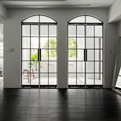 Glass doors by Studio In2 深活生活設計,