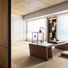 Study/office by 禾巨事業-建設.工程.空間設計