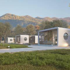 Casas pré-fabricadas  por PLEKvoor