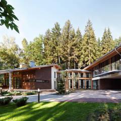 Maisons de campagne de style  par Роман Леонидов - Архитектурное бюро
