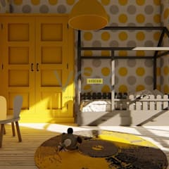 Vox Design – İç Mekan Tasarımları:  tarz Bebek odası