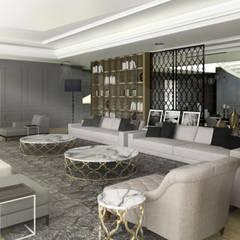 : Ruang Keluarga oleh SAE Studio (PT. Shiva Ardhyanesha Estetika),