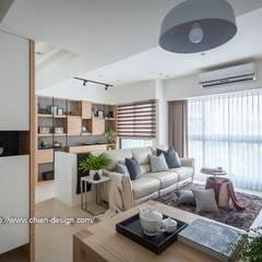 Ruang Keluarga oleh 鼎士達室內裝修企劃, Eklektik Kayu Wood effect