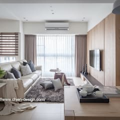 Living room by 鼎士達室內裝修企劃