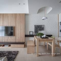 Dining room by 鼎士達室內裝修企劃
