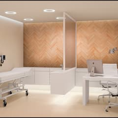 Clinics توسطMADBA design & architecture, مدرن