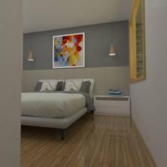 Dormitorio principal: Dormitorios de estilo  por SBG Estudio
