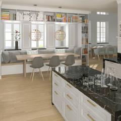 Vivienda Unifamilar - Estocolmo - Suecia: Cocinas a medida  de estilo  por MADBA design & architecture