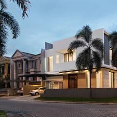 PIKtangular House:  Rumah keluarga besar by BlocStudio