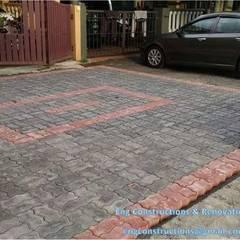 Outdoor Tiling:  Floors by Sam Contractors Ipoh