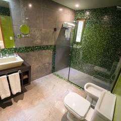 Proyecto y construcción Hotel Ivy: Hoteles de estilo  por GS TALLER DE ARQUITECTURA