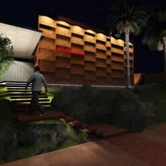 Club Unique  / Proyecto - Dirección Técnica: Bares y Clubs de estilo  por GS TALLER DE ARQUITECTURA