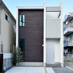 Single family home by タイコーアーキテクト, Industrial