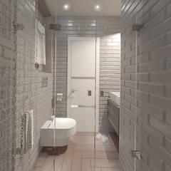 Санузел: Ванные комнаты в . Автор – Булычева Катерина
