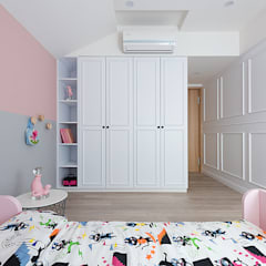 scandinavian Nursery/kid's room by 知域設計