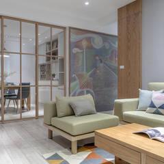 غرفة المعيشة تنفيذ 知域設計 , إسكندينافي
