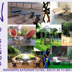 Catálogo Novoarte Exterior: Casetas de jardín de estilo  de Novoarte Exterior