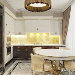 Дизайн интерьера в стиле ар-деко: Кухни в . Автор – Группа Компаний 'Фундамент'