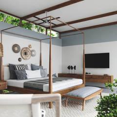 ห้องนอน by Studio Gritt