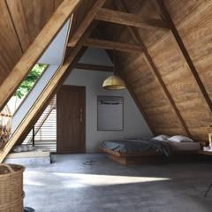 Bedroom by Studio Gritt, Rustic