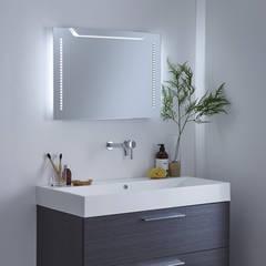 Milano Minho LED Mirror:  Bathroom by BigBathroomShop