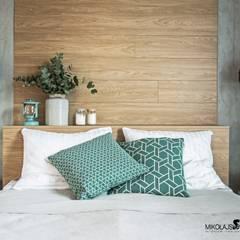 industrial Bedroom by MIKOŁAJSKAstudio