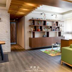 森林系清新居家:  書房/辦公室 by 唐御品空間設計