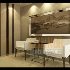 Classic Residential: Ruang Keluarga oleh CV Leilinor Architect,