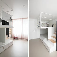 eclectic Nursery/kid's room by (주)바오미다