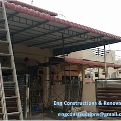 Carport by Sam Contractors Ipoh, Asian Aluminium/Zinc