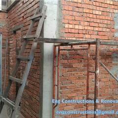 Backyard Extension:  Walls by Sam Contractors Ipoh