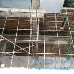 Balcony Asian corridor, hallway & stairs by Sam Contractors Ipoh Asian
