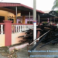 Fire Insurance Claim:  Terrace by Sam Contractors Ipoh
