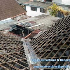 Roofing:  Roof by Sam Contractors Ipoh