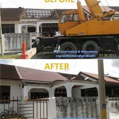 Dak door Sam Contractors Ipoh