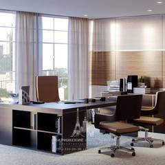 Study/office by Архитектурное бюро «Парижские интерьеры»