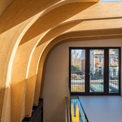 Cross Laminated Timber beams :  Roof by The Crawford Partnership