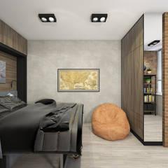 Дизайн квартиры ЖК Маршал Сити: Детские комнаты в . Автор – ELENA_KULIK_DESIGN