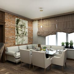 Дизайн проект дома для молодой девушки: Кухни в . Автор – ELENA_KULIK_DESIGN