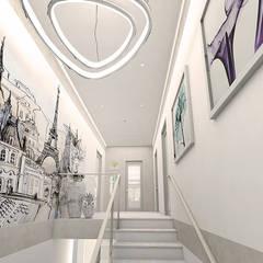 ELENA_KULIK_DESIGN의  계단, 북유럽