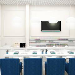 Салон красоты г. Одесса: Коммерческие помещения в . Автор – ELENA_KULIK_DESIGN