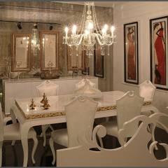 Luna Tarz – yemek takımı: klasik tarz tarz Yemek Odası