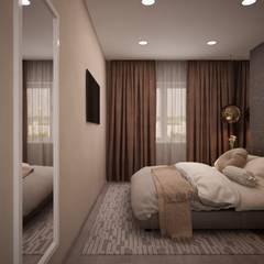 Спальня: Спальни в . Автор – дизайн-бюро ARTTUNDRA