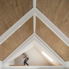 Gable roof by FERREIRARQUITETOS