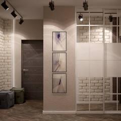 Koridor dan lorong oleh Студия интерьерного дизайна happy.design